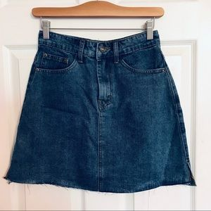 Miami Denim Mini Skirt